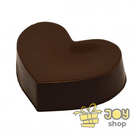 Сердце из молочного шоколада