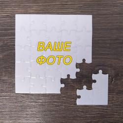 Пазли глянцеві квадратні (10 х 10 см), 25 елементів