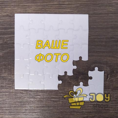Пазлы глянцевые квадратные (10 х 10 см), 25 элементов